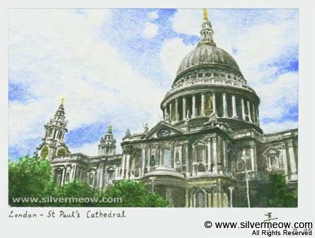Paintings Artwork - St Paul's Catheral
