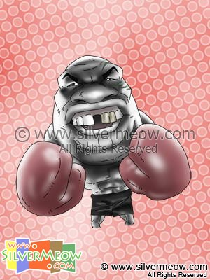 Sport Caricatures - Mike Tyson (Boxing)